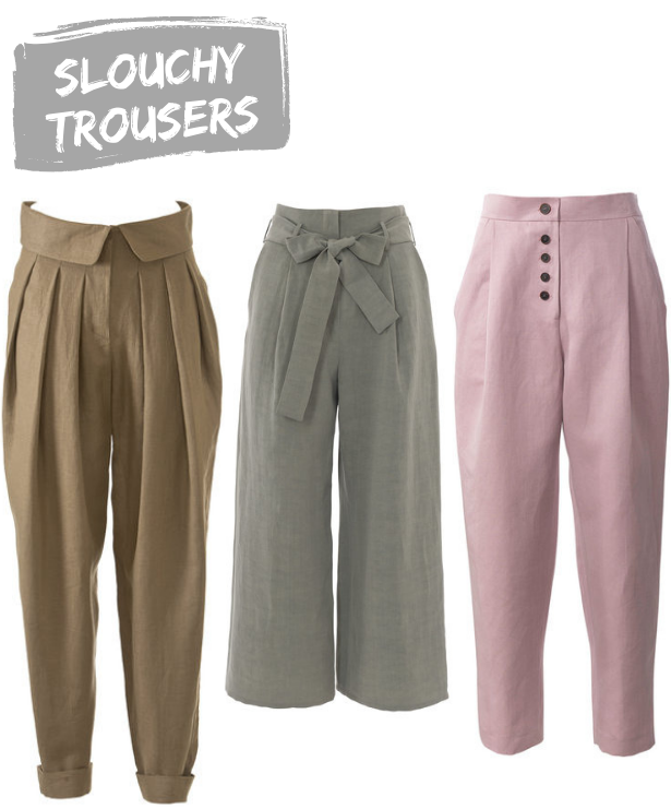 Summer 19 Trends Slouchy Trousers