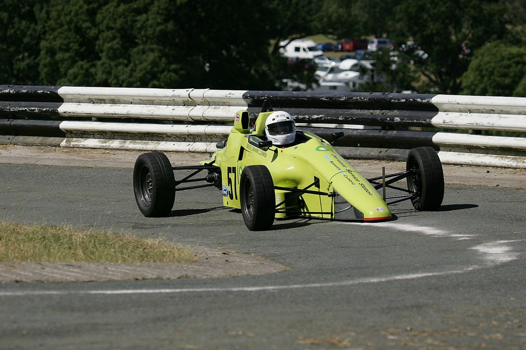Graham Curwen, Van Diemen RF91 at Barbon (B Taylor)
