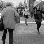 Shoppers on Fishergate, Preston
