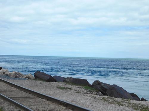 lake huron port fort gratiot train track railroad railway
