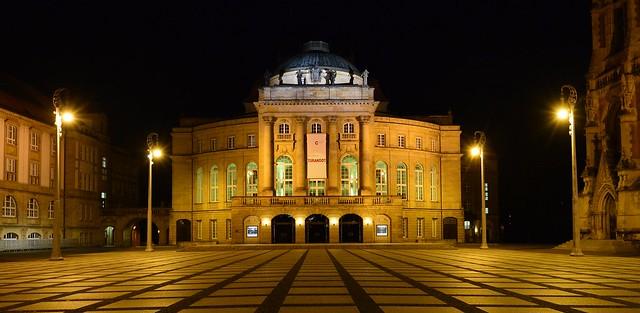 Chemnitz - Theaterplatz
