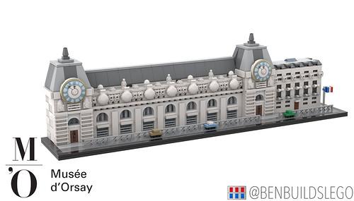 Micro Lego Musée d'Orsay, Paris