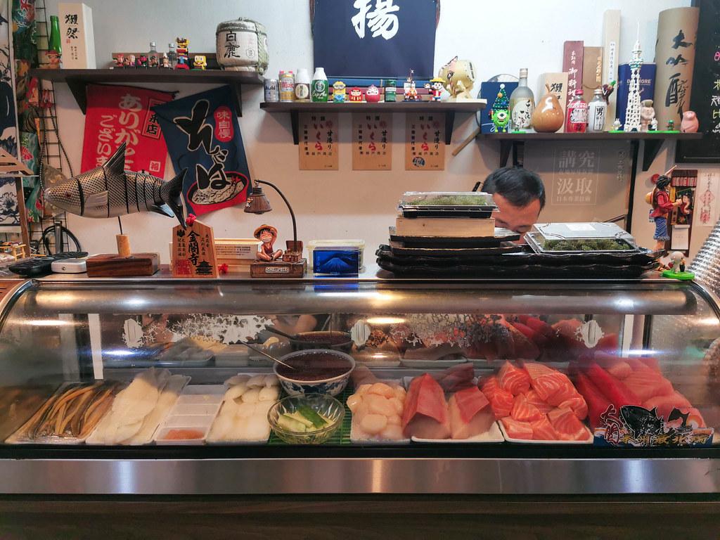 揚日式料理(生魚片蓋飯) (7)