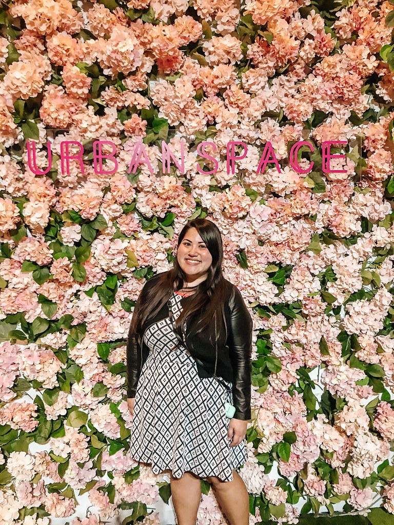 Urban Space Flower Wall   Cafes in Seoul