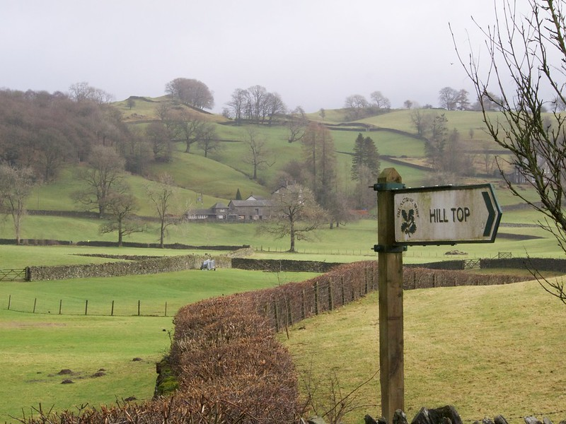 英國湖區的Hill top農莊由彼得兔作者波特小姐買下,並捐給英國國民信託組織管理。Photo credit: blackplastic odysseygate via flickr (CC BY-SA 2.0)