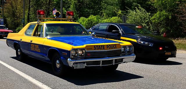 NYS Police 1974 Dodge Monaco & Saratoga County Sheriff's Unit 4123