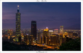Taipei Blue Hour | by Johan Pannekoek