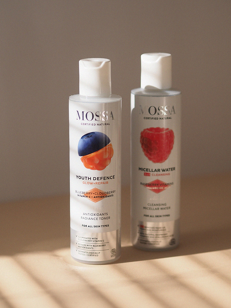 Mossa micellar water youth defence toner
