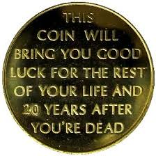 Good Luck token 20 Years After You're Dead