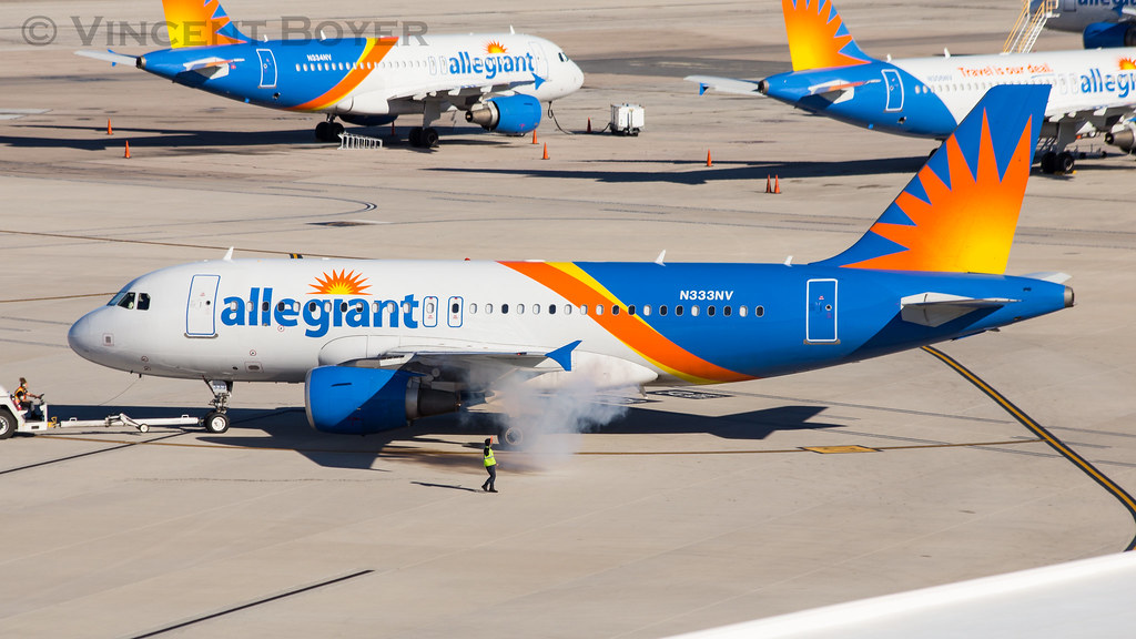Allegiant Air Airbus A319 | N333NV