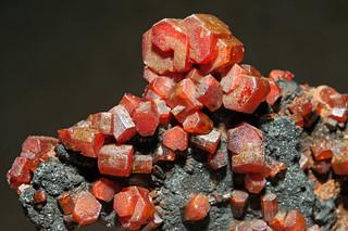 vanadinite, goethite