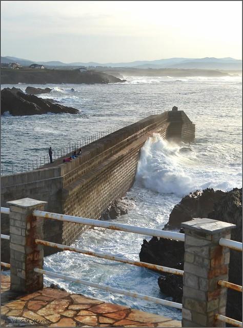 El sonido de las olas