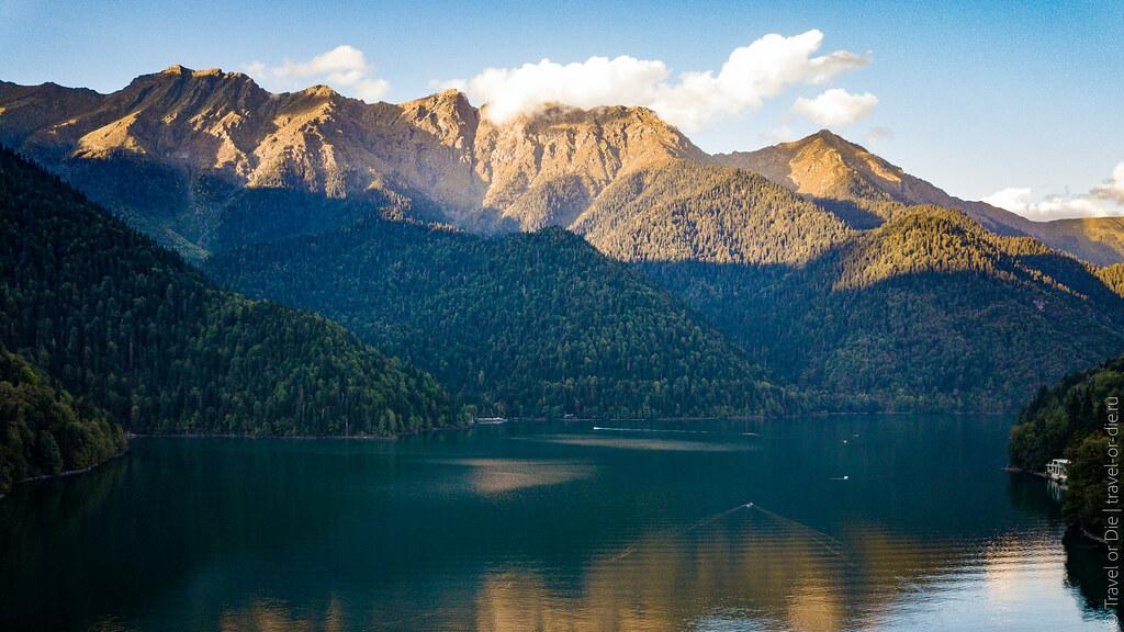 Lake-Ritsa-Abkhazia-Озеро-Рица-Абхазия-dji-mavic-0820