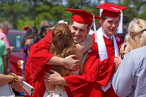 Hugs for a new graduate.