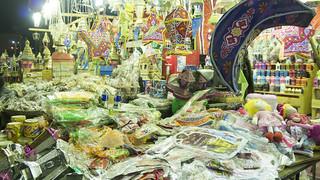 Egyptian Ramadan lanterns and decoration sold in Cairo   by Kodak Agfa