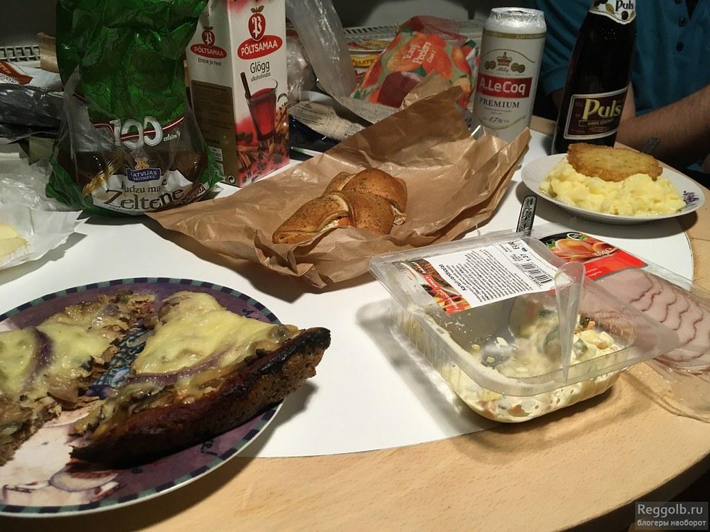 Еда в Таллине магазины
