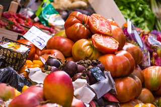 Mercado Central de Atarazanas Fruit and Vegetables