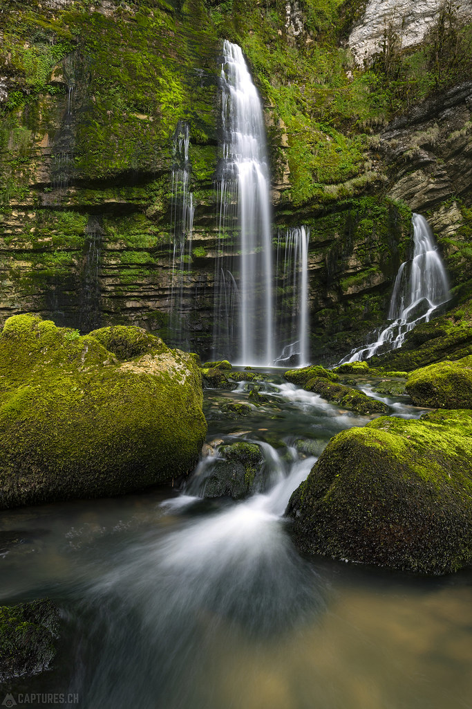 White water - Cascades du Flumes