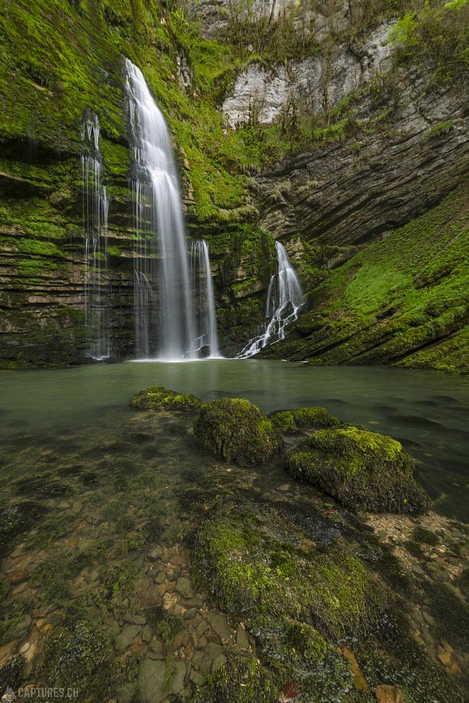 The waterfall - Cascades du Flumen