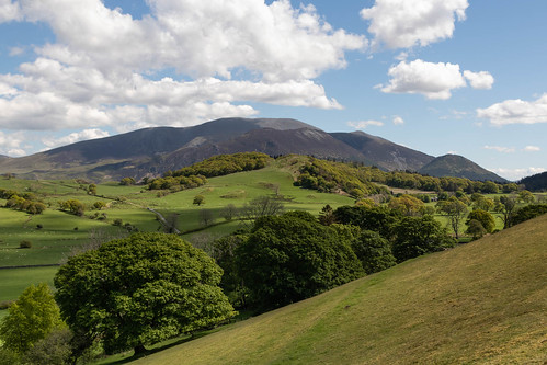 Skiddaw from above old Scales | by johnkaysleftleg