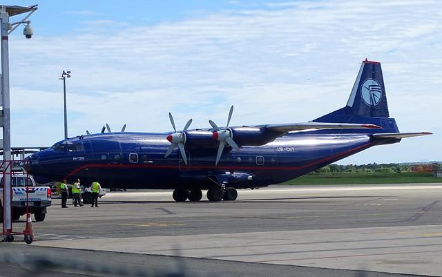Ukraine Air Alliance Antonov 12 UR-CNT