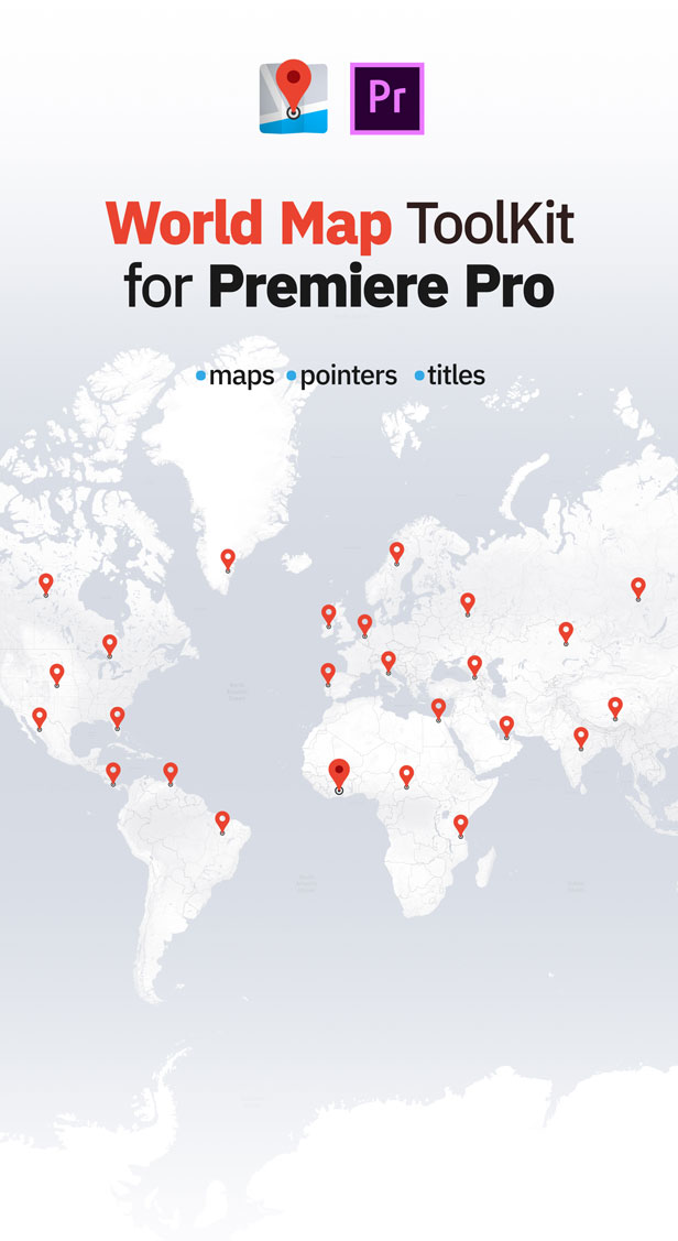 World Map ToolKit for Premiere Pro - 1