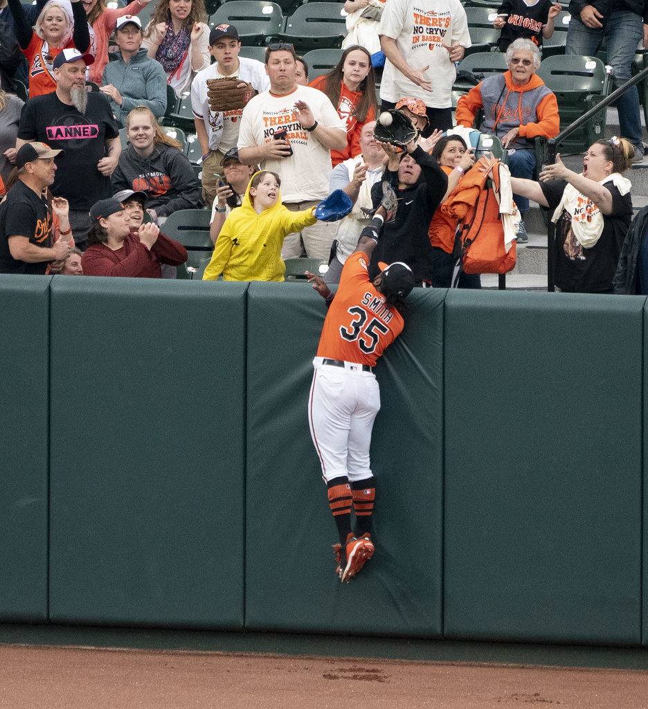 Dwight Smith Jr  | Angels at Orioles 5/11/19 | Keith Allison
