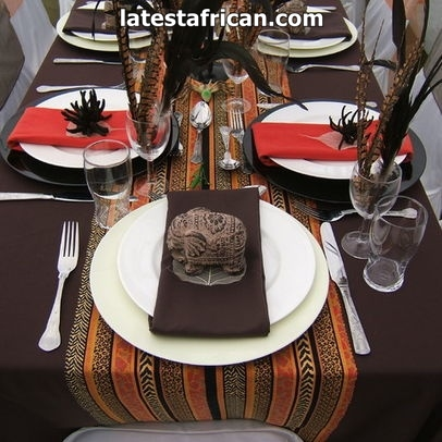TRADITIONAL AFRICAN WEDDING DECOR