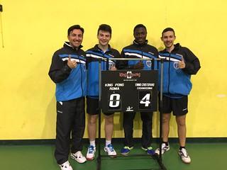 Minervini, Pellegrini, Hassan  e Massarelli mostrano il risultato