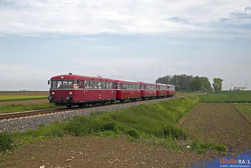 796 650 + 766 802 . VEB . 91650 . Merzbrück . 18.05.19.
