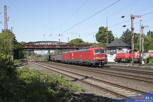193 328 + 193 343 . DB Cargo . 45719 . Düsseldorf Rath . 16.05.19.
