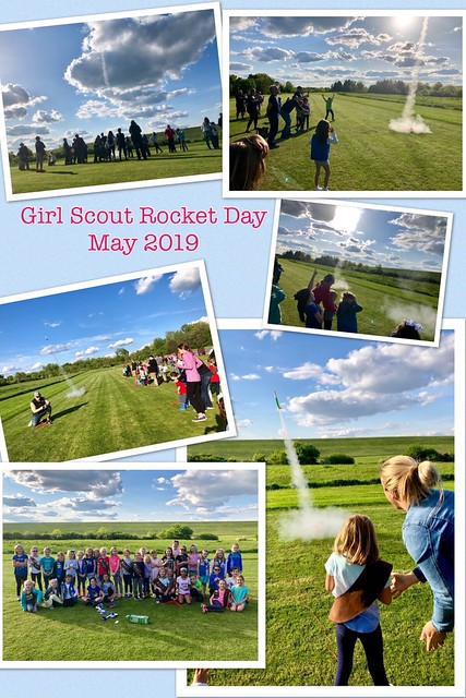 2019 Girl and Cub Scout Rocket Launch Days