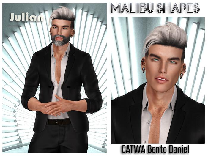 Malibu Shape – Julian – CATWA Bento Daniel
