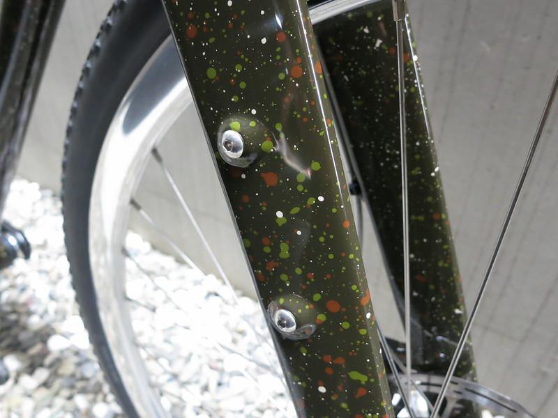 Corner Bikes Gravel Camo Fork 2