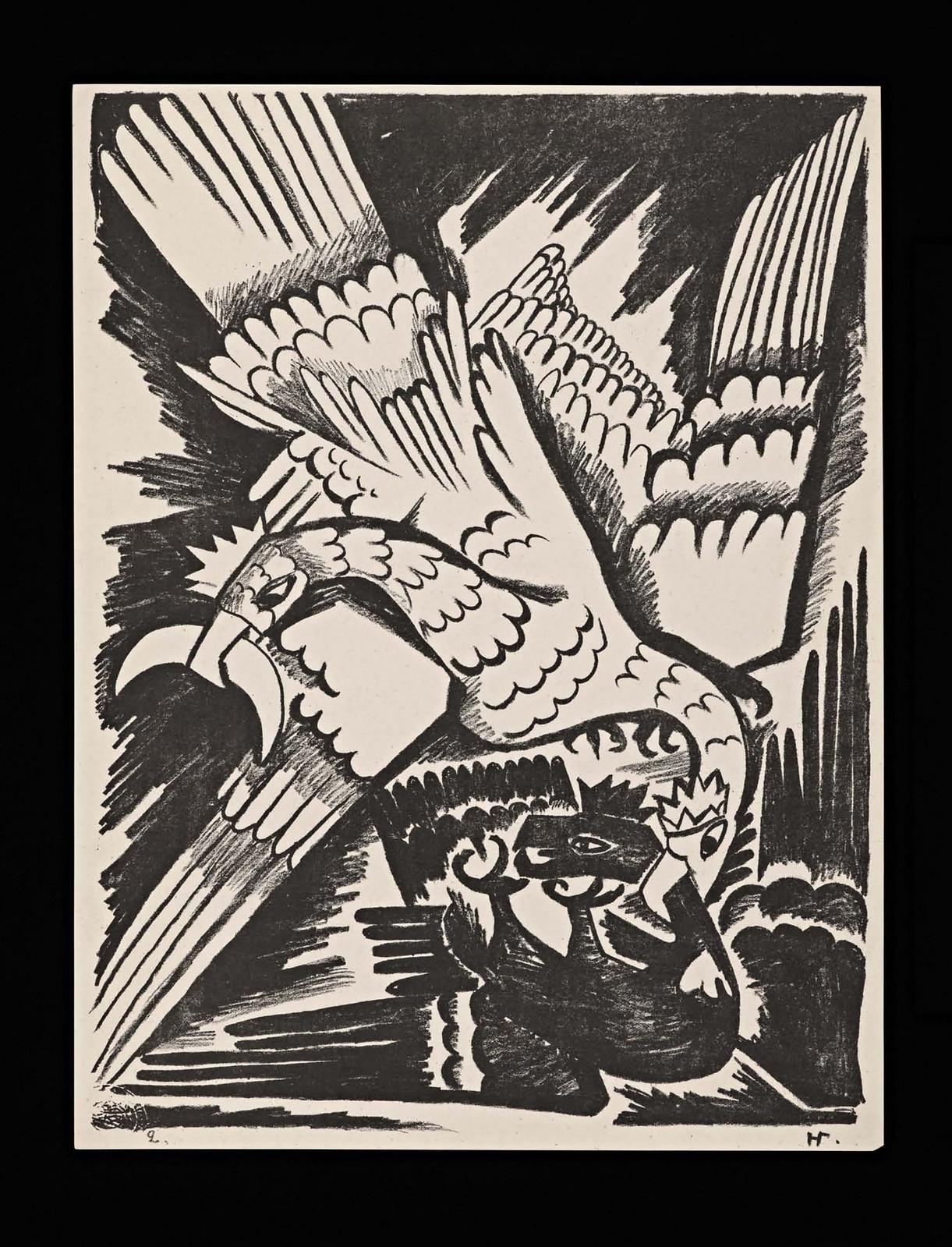 1914. Мистические образы войны 14 литографий-07