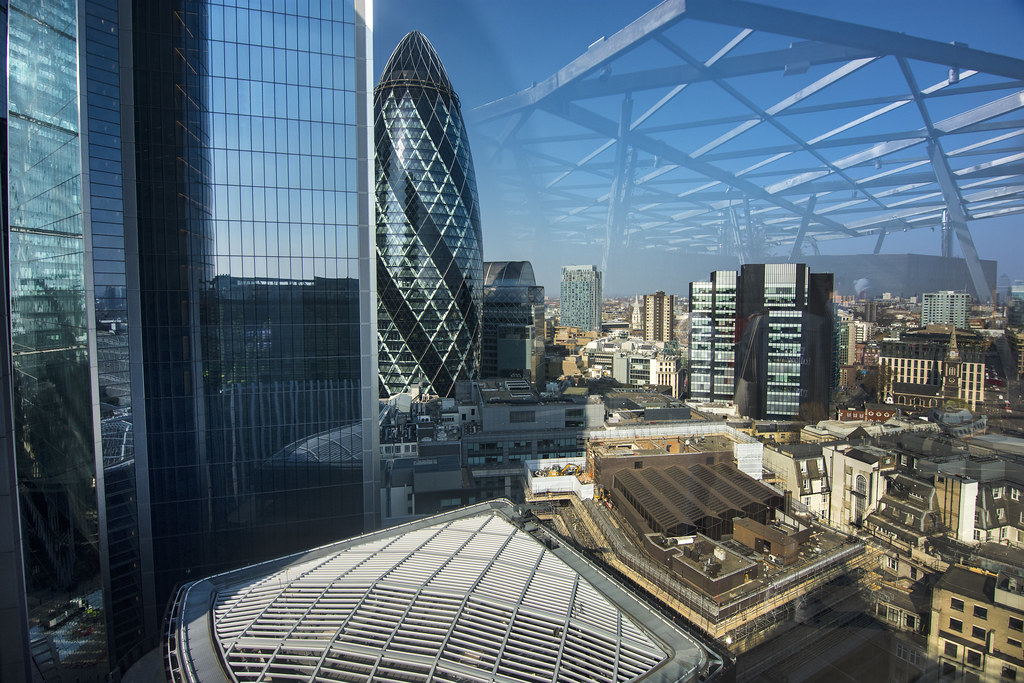 UK - London - 120 Fenchurch St - View from The Garden 02_D ...