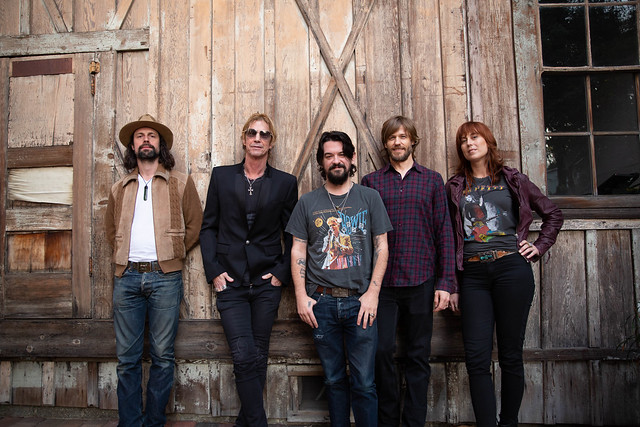 Duff McKagan and Shooter Jennings by Jesse DeFlorio