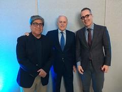 Speakers Hepatitis C forum, Dr Francisco Bosques, Dr Moises Diago, Dr René Malé