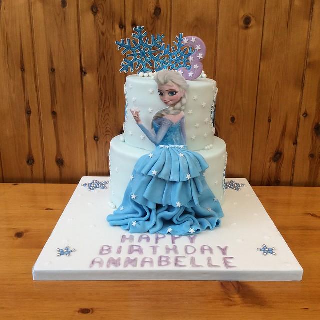Frozen Elsa Cake for a grandchild