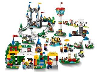 讓這座迷你樂高樂園在家裡開幕吧~! LEGO 40346【樂高樂園 丹麥比隆】LEGOLAND Billund 曝光!!【LEGOLAND限定】