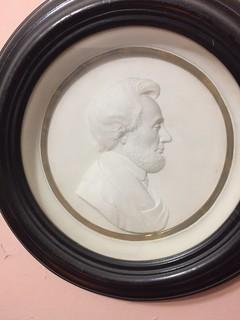 Salathiel Ellis Indian peace medal Portrait