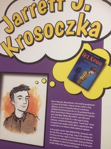 writeup on Jarrett J. Krosoczka