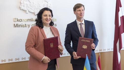 Latvijas un Ukrainas Starpvaldību komisijas ekonomiskās, rūpnieciskās, zinātniskās un tehniskās sadarbības jautājumos septītā sēde