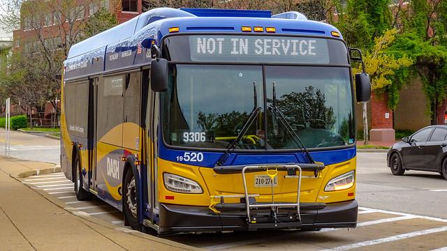 DASH Alexandria Transit Company 2019 New Flyer Xcelsior XD35 #520