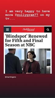 One more season of Blindspot! | by walelia