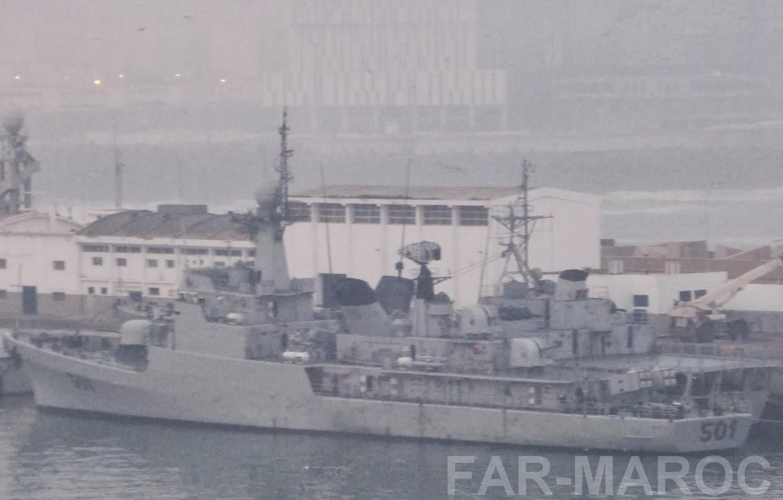 Royal Moroccan Navy Descubierta Frigate / Patrouilleur Océanique Lt Cl Errahmani - Bâtiment École - Page 4 47836976871_29bdbf0790_o