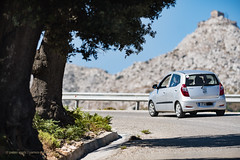 Ikaria/Ικαρία  - On the road near Koskina Castle