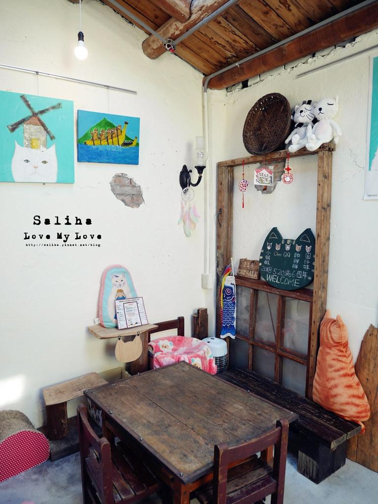 新北瑞芳文青旅行景點猴硐Empress Gallery Catwalk 219有貓咪咖啡館下午茶 (1)
