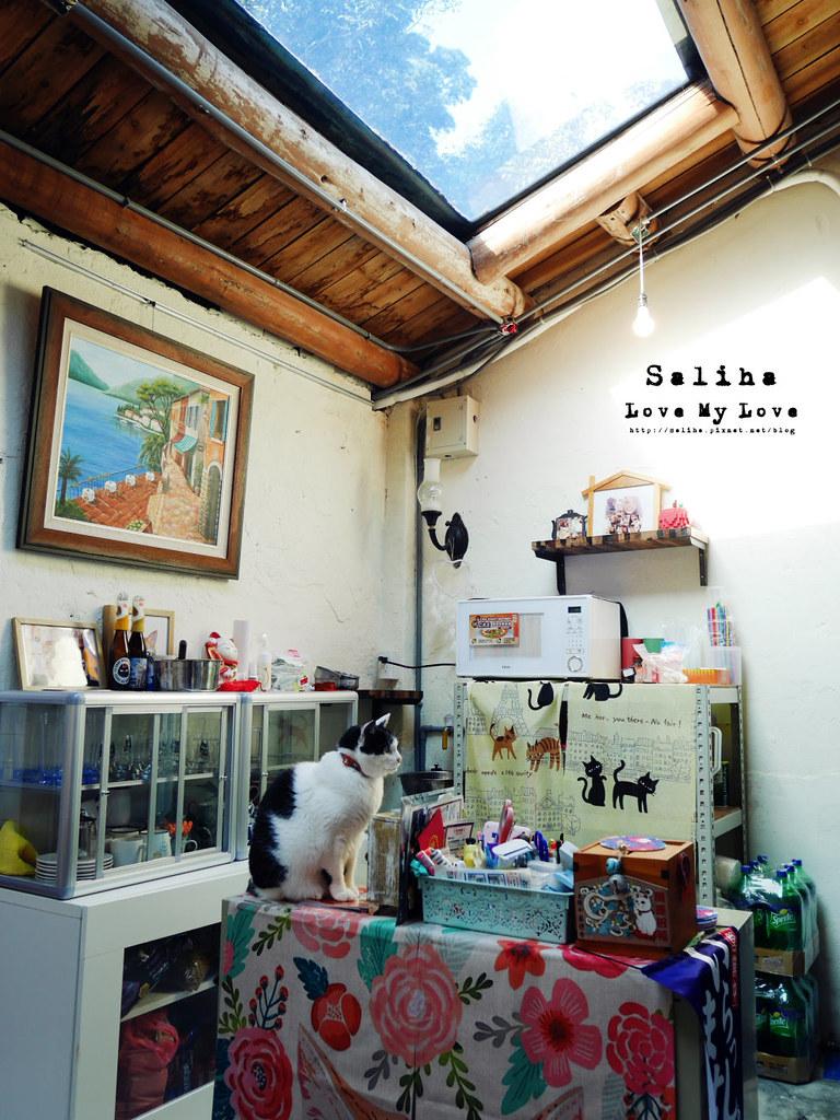 新北瑞芳不限時間有wifi咖啡廳猴硐Empress Gallery Catwalk 219有貓咪下午茶 (1)