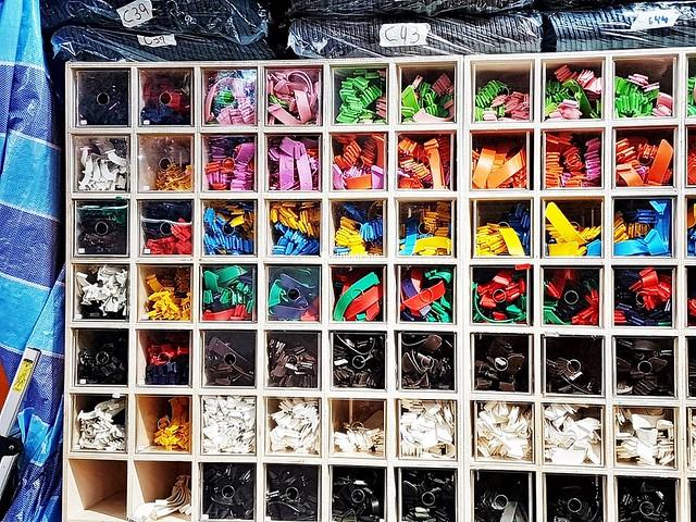 Colourful Straps Shelf